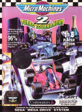Micro Machines 2: Turbo Tournament Genesis Front Cover