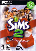 The Sims 2 (Holiday Edition) Windows Front Cover