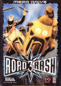 Road Rash 3 Genesis Front Cover