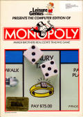Monopoly Commodore 64 Front Cover