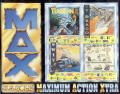 MAX.: Maximum Action Xtra Amiga Front Cover