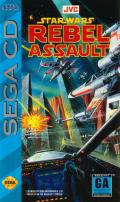 Star Wars: Rebel Assault SEGA CD Front Cover
