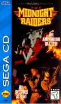 Midnight Raiders SEGA CD Front Cover