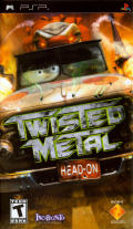 Twisted Metal: Head-On PSP Front Cover