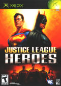 Justice League Heroes Xbox Front Cover
