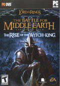 The Lord of the Rings: The Battle for Middle-earth II - The Rise of the Witch-king Windows Front Cover