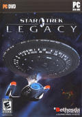 Star Trek: Legacy Windows Front Cover