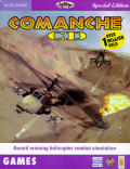 Comanche CD DOS Front Cover