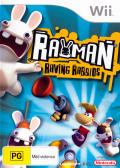 Rayman: Raving Rabbids Wii Front Cover