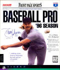 Front Page Sports: Baseball Pro '96 Season Windows Front Cover