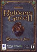 Baldur's Gate II: Shadows of Amn Macintosh Front Cover