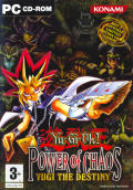 Yu-Gi-Oh! Power of Chaos: Yugi the Destiny Windows Front Cover