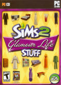 The Sims 2: Glamour Life Stuff Windows Front Cover