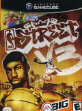 NBA Street V3 GameCube Front Cover