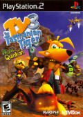 Ty the Tasmanian Tiger 3: Night of the Quinkan PlayStation 2 Front Cover