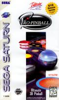 Pro Pinball: The Web SEGA Saturn Front Cover