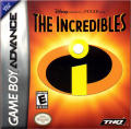 The Incredibles Game Boy Advance Front Cover