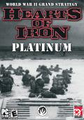 Hearts of Iron (Platinum) Windows Front Cover