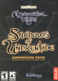 Neverwinter Nights: Shadows of Undrentide Windows Front Cover