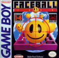 Faceball 2000 Game Boy Front Cover