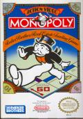 Monopoly NES Front Cover
