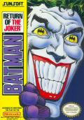Batman: Return of the Joker NES Front Cover