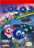 Adventures of Lolo 3 NES Front Cover