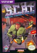 S.C.A.T.: Special Cybernetic Attack Team NES Front Cover