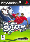 Sensible Soccer 2006 PlayStation 2 Front Cover