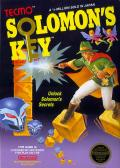 Solomon's Key NES Front Cover