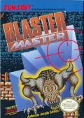 Blaster Master NES Front Cover