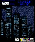 Night City MSX Front Cover