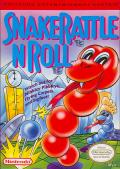Snake Rattle N Roll NES Front Cover