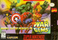 Marvel Super Heroes in War of the Gems SNES Front Cover