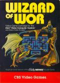 Wizard of Wor Atari 2600 Front Cover