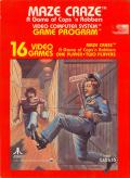Maze Craze: A Game of Cops 'n Robbers Atari 2600 Front Cover