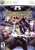 Phantasy Star Universe Xbox 360 Front Cover