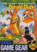 The Lucky Dime Caper starring Donald Duck Game Gear Front Cover