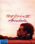 Test Drive III: The Passion DOS Front Cover