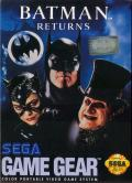 Batman Returns Game Gear Front Cover