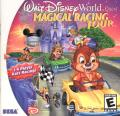 Walt Disney World Quest: Magical Racing Tour Dreamcast Front Cover