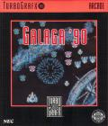Galaga '88 TurboGrafx-16 Front Cover