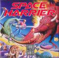 Space Harrier TurboGrafx-16 Front Cover
