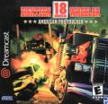 Eighteen Wheeler: American Pro Trucker Dreamcast Front Cover