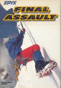 Final Assault Amiga Front Cover