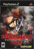 Devil May Cry: 5th Anniversary Collection PlayStation 2 Front Cover