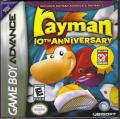 Rayman: 10th Anniversary Game Boy Advance Front Cover