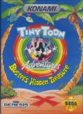 Tiny Toon Adventures: Buster's Hidden Treasure Genesis Front Cover