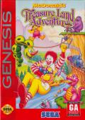 McDonald's Treasure Land Adventure Genesis Front Cover