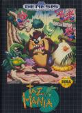 Taz-Mania Genesis Front Cover